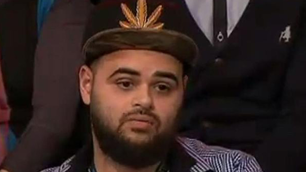 Zaky Mallah lists his Q&A 'weed hat' for sale on eBay