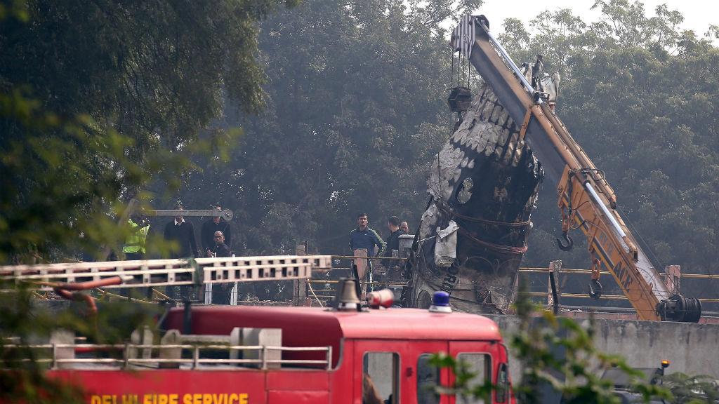 Small paramilitary plane crash in India kills all 10 aboard