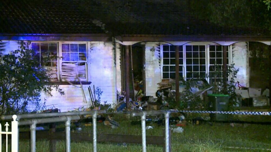 Elderly hoarder dies in house fire in Sydney's west