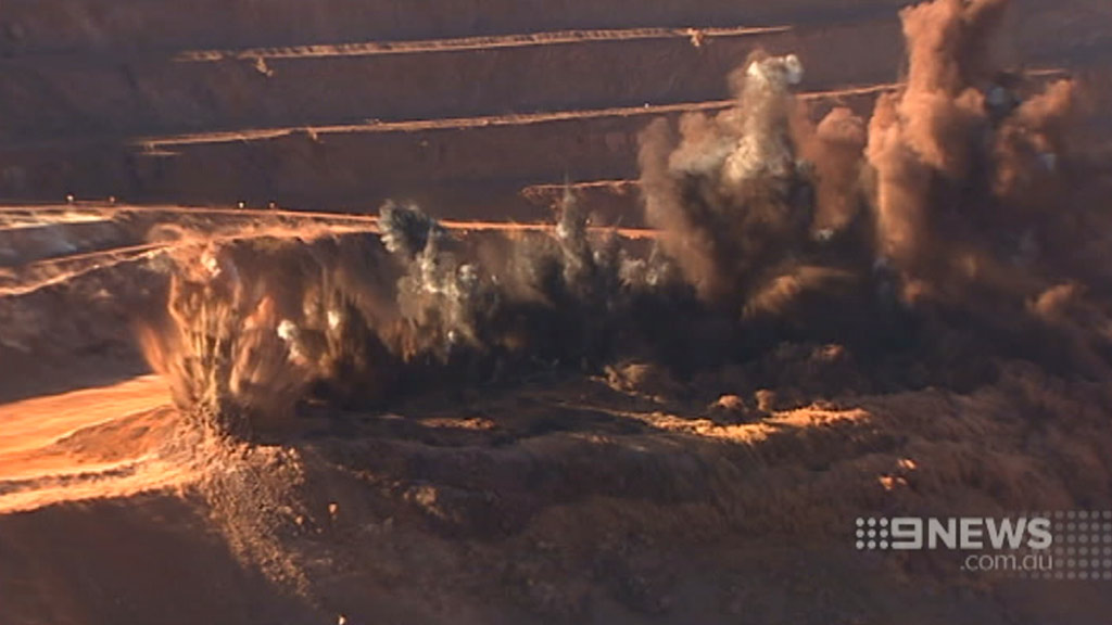 The WA mining boom has stalled markedly in recent months. (9NEWS)