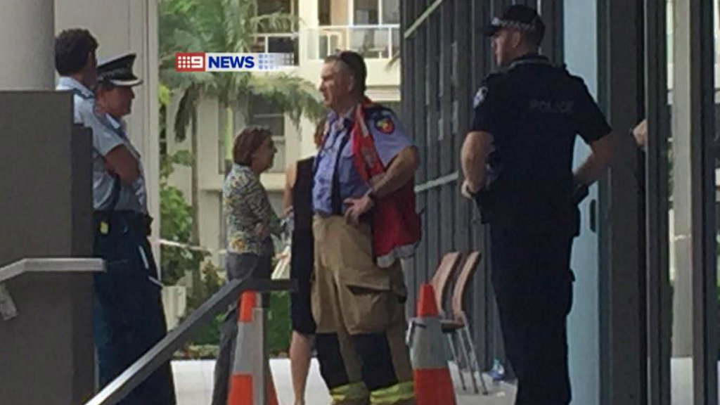 MP Karen Andrew's office has been evacuated after a suspicious package was sent to her office. (9NEWS)