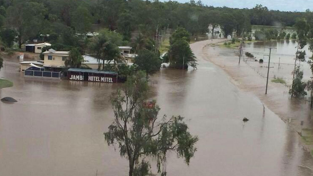 IN PICTURES: Cyclone Marcia hammers Queensland (Gallery)