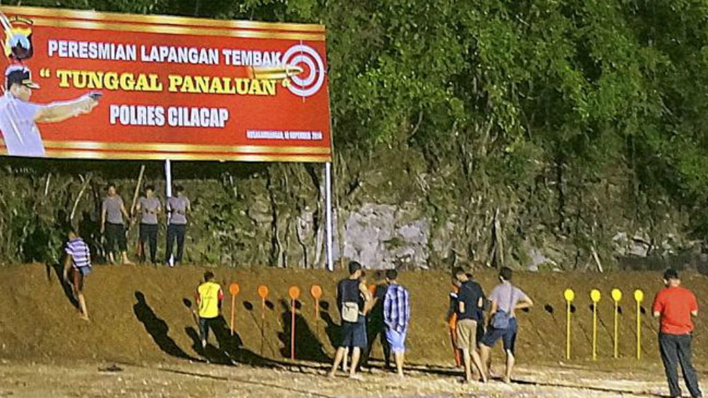 The jungle field where the Bali Nine duo will be executed. (Supplied)