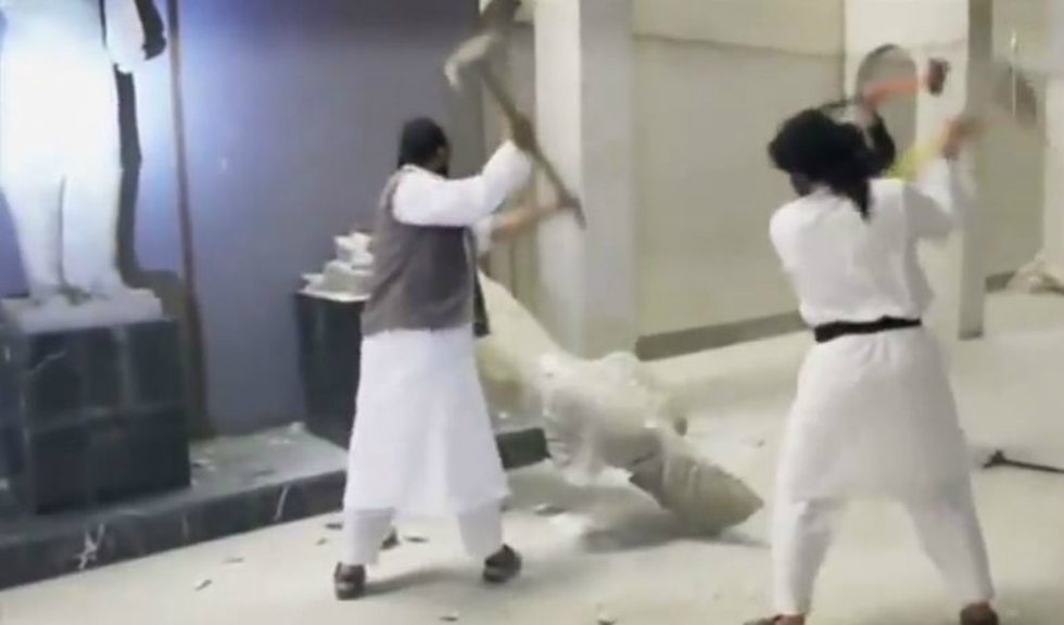 'Conflict antiquities': Method to ISIL's vandalism madness