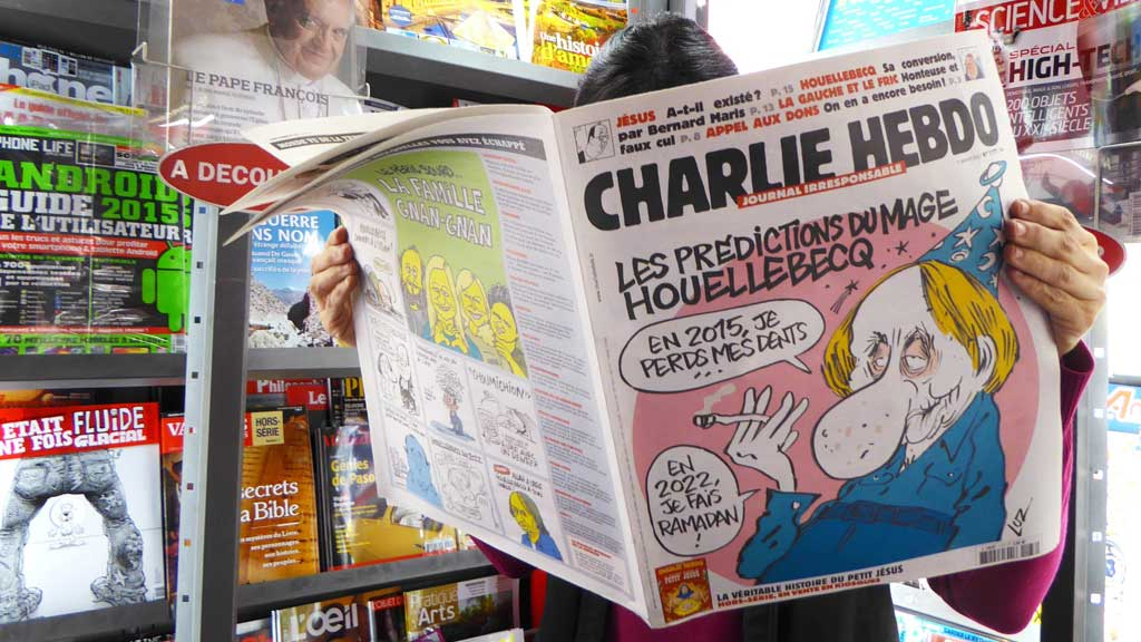 French police probing new threats against Charlie Hebdo
