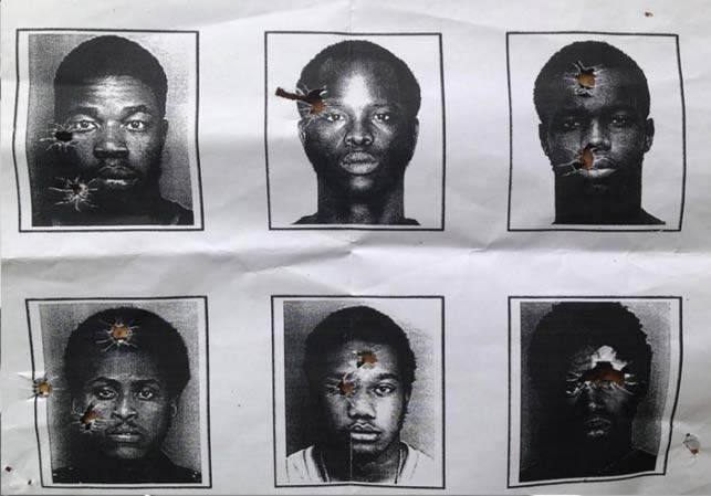 Police chief says shooting at mug shots is essential for 'facial recognition'. (Supplied)