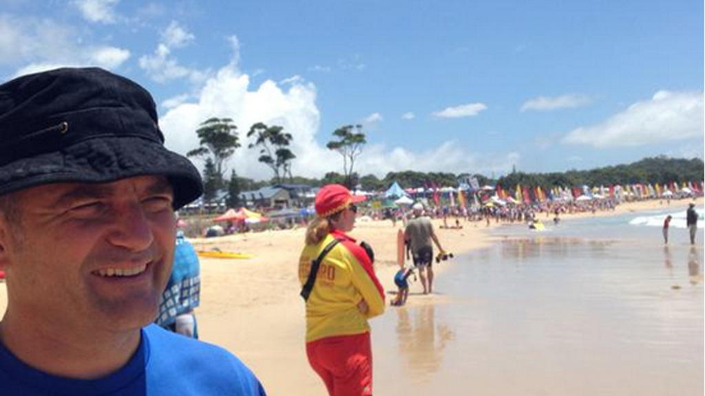 The 2015 Stramit NSW Country Surf Life Saving Championships are currently underway at Mollymook Beach. (Twitter @dolahenty)