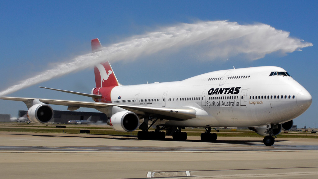 The first 747-400 to be acquired by Qantas will soon be retired. (Supplied)