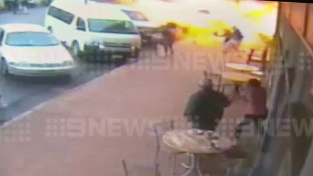 Driver charged over last year's Ravenshoe café gas explosion that killed two people