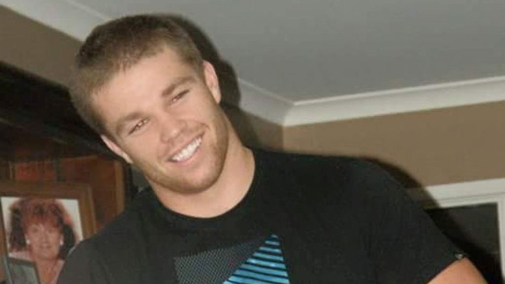 James Ackerman died two days after a shoulder charge in a rugby league game. (Supplied)