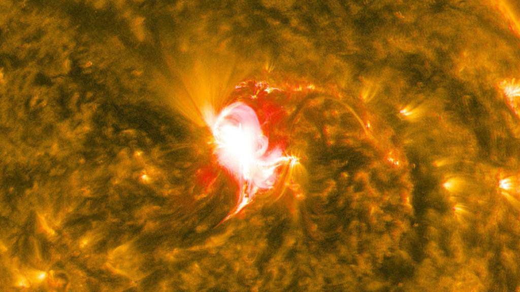 Severe space weather alert as solar storm strikes Earth