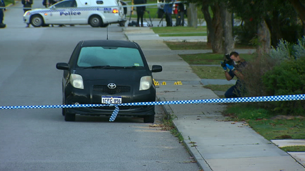 The man allegedly took five people hostage at a Mosman Park home. (9NEWS)