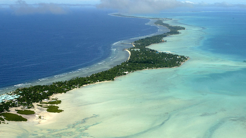 Some small islands growing, not sinking in wake of sea level rise