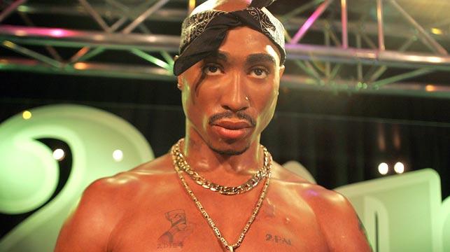Tupac Shakur. (Getty)