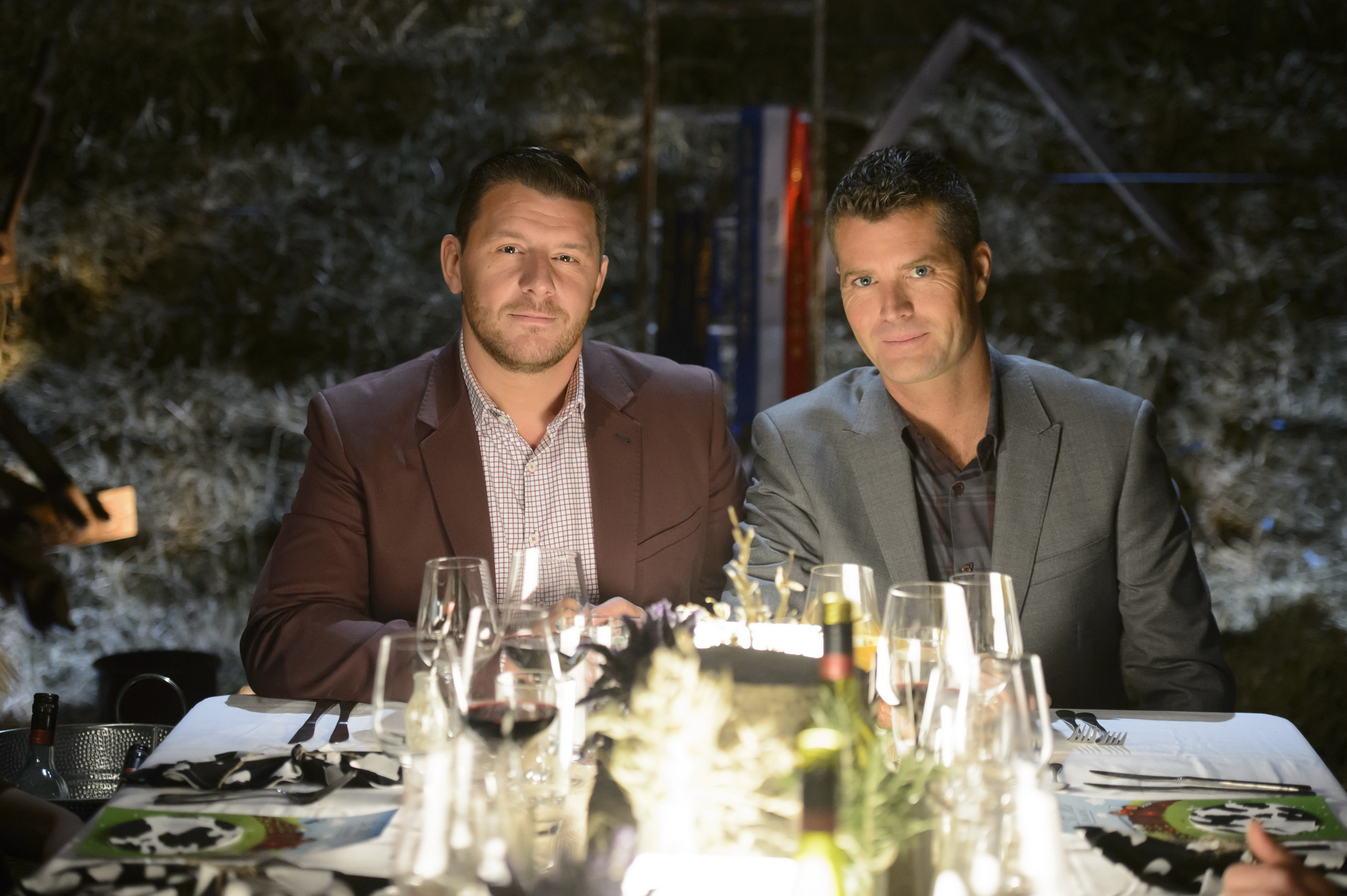 My Kitchen Rules judges Manu Fieldel and Pete Evans (AAP)