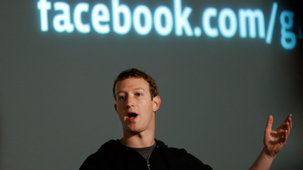Facebook says 1,040,000,000 people use the social network every day