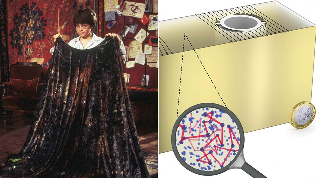 Bedazzling discovery: Researchers to demonstrate ground-breaking portable cloaking device