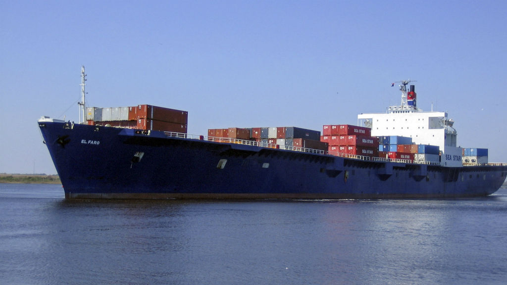US Navy finds wreckage believed to be missing freighter El Faro