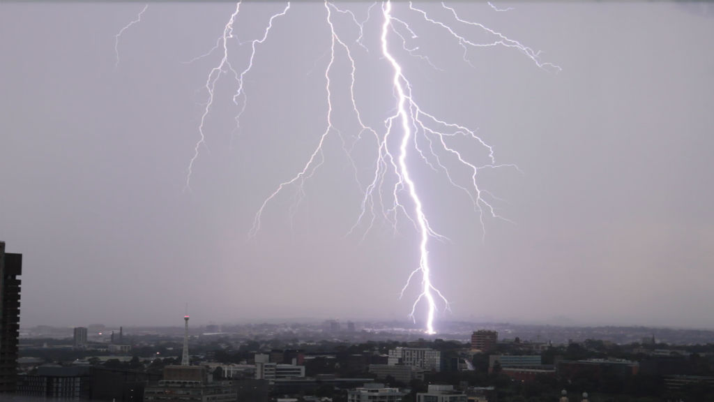 9NEWS reader Quentin Long captured this lightning strike in Sydney.