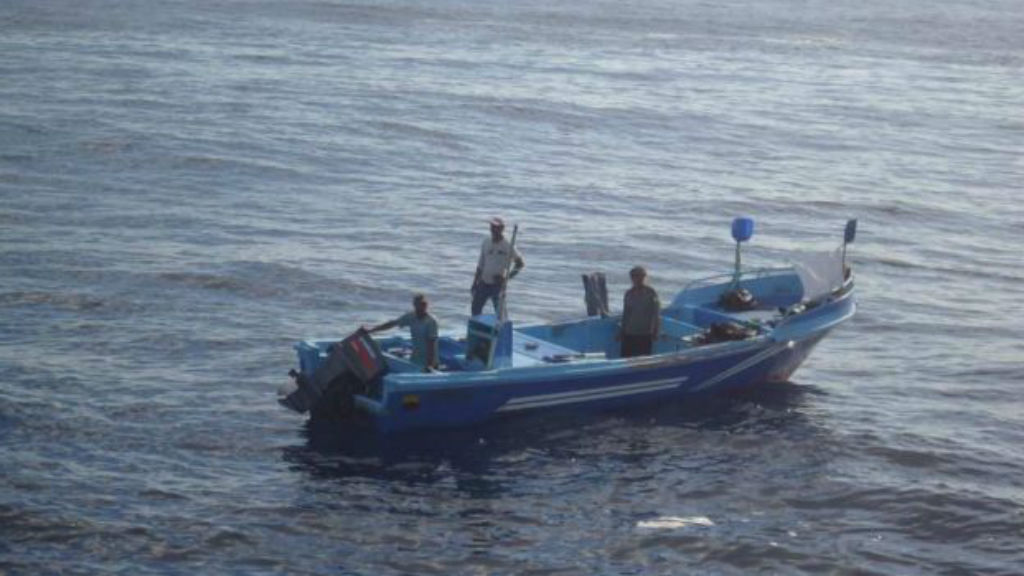 Four castaways rescued off Mexico after a month at sea
