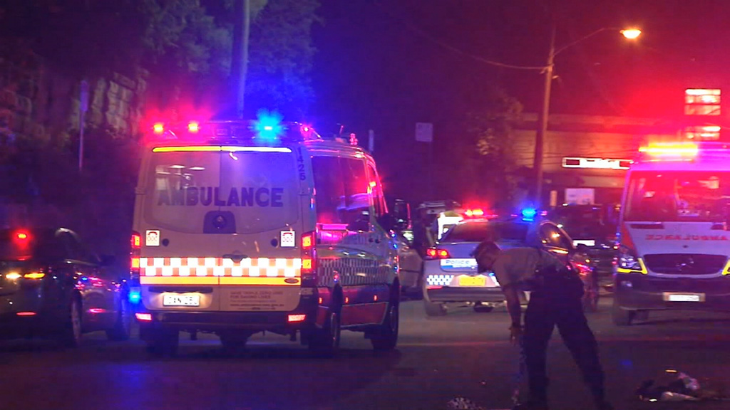 One man died and another was injured when they were struck by a car. (9News)