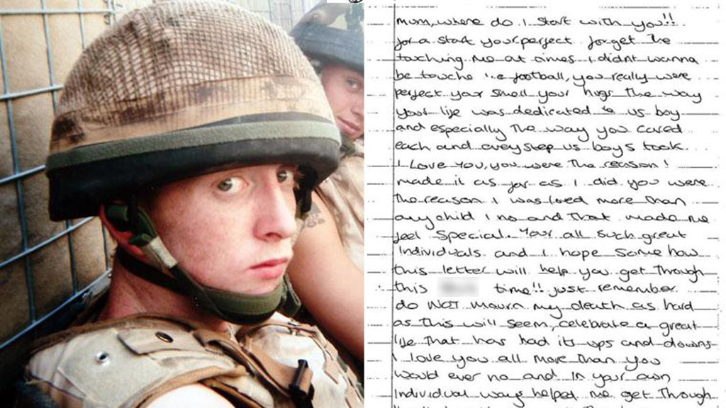 Letters from British teen soldier to family reveal high hopes before tragic death