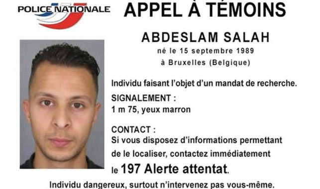 Police have issued a warning for Salah Abdeslam, who was last known to be in Brussels.