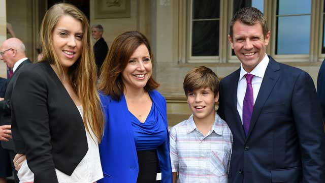 Mike Baird 'not proud' of how he mishandled his wife's postnatal depression