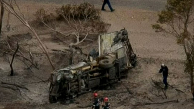 Three backpackers have been killed while trying to save a horse from bushfires in Western Australia. Source: 9News.