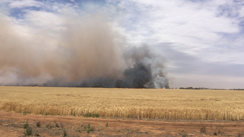 The Pinery bushfire destroyed 91 homes. (9NEWS)