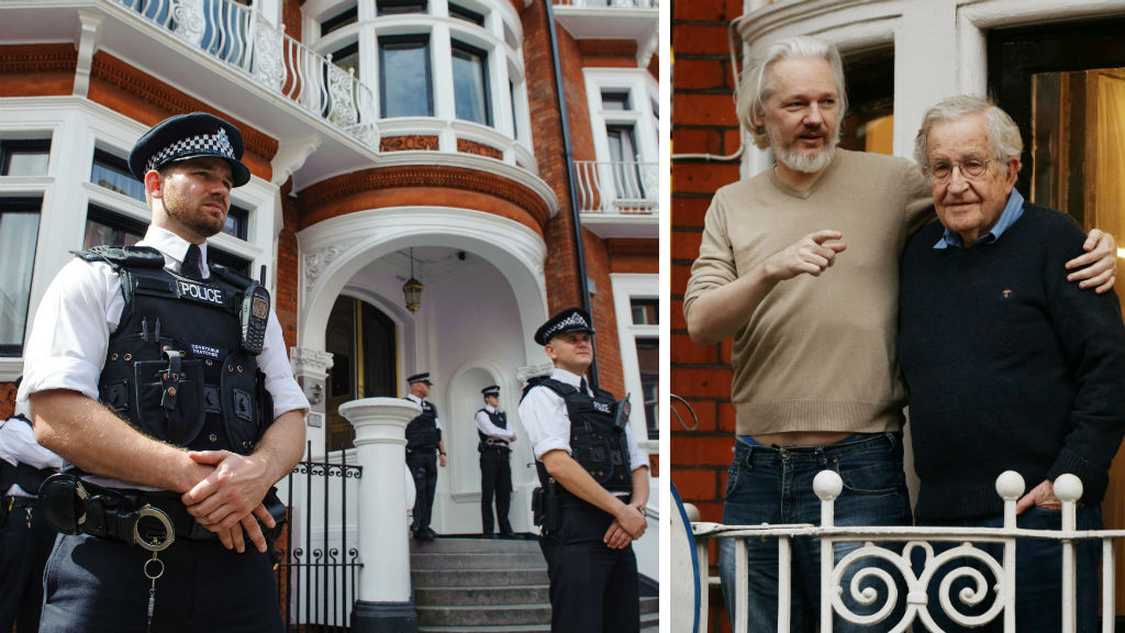 UK police end guard outside embassy after three years and $25m