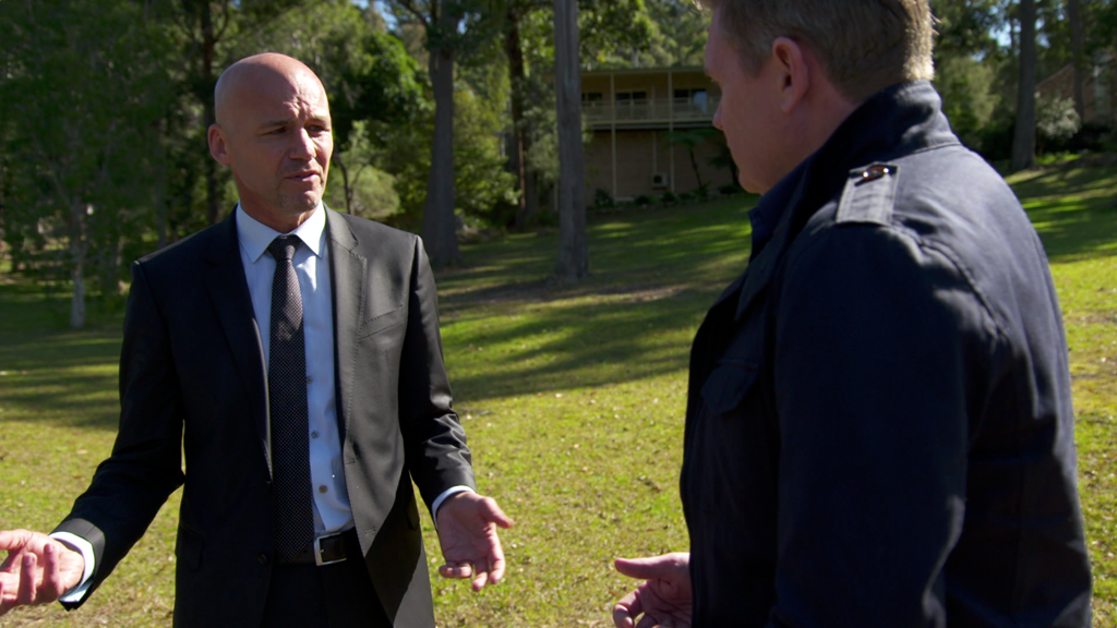 Detective Inspector Gary Jubelin is leading the case into William's disappearance. (9NEWS)