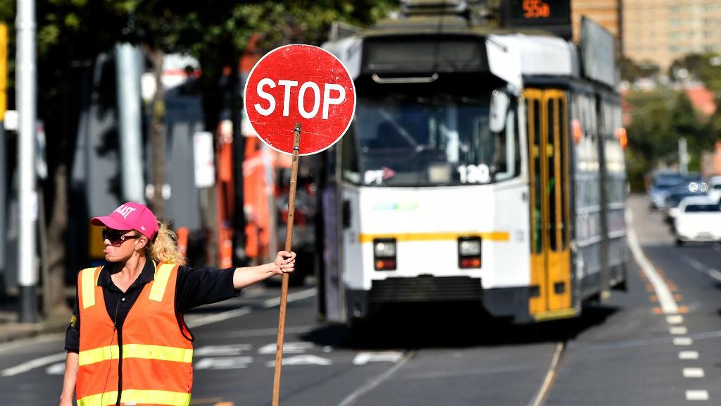 Tram delays across Melbourne's CBD