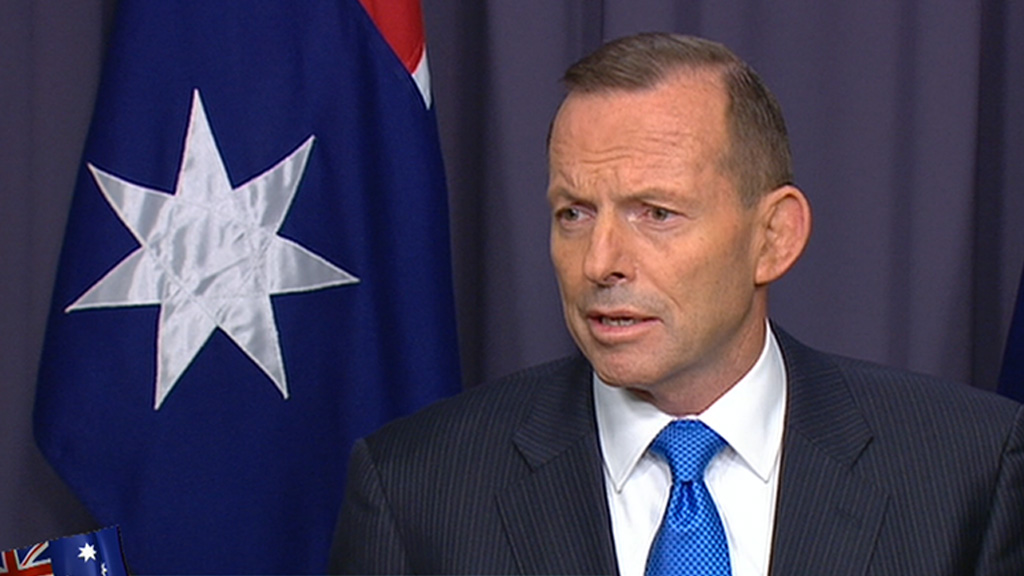 Tony Abbott intends to re-contest his seat at the next election