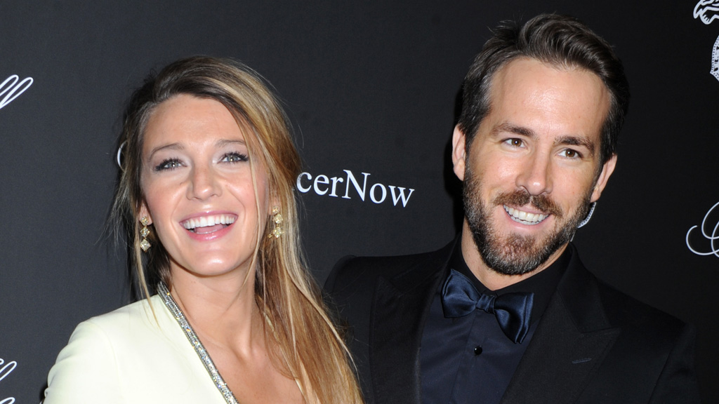 Hollywood couple Blake Lively and Ryan Reynolds. (AAP)
