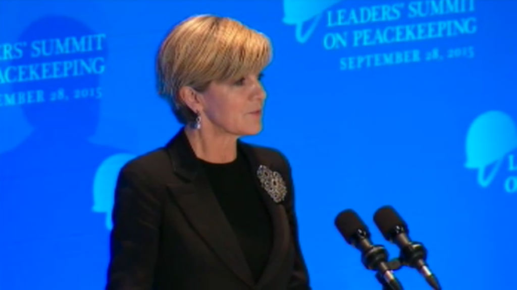 Australia seeks United Nations Security Council seat