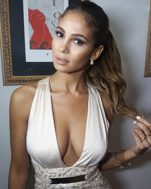 Greice Santo, Brazilian model and actress in Jane the Virgin , is married to RJ Cipriani. Santo and her family also recieved threats from Owen Hanson, as the former USC footballer tried to recover a debt of $2.5million.