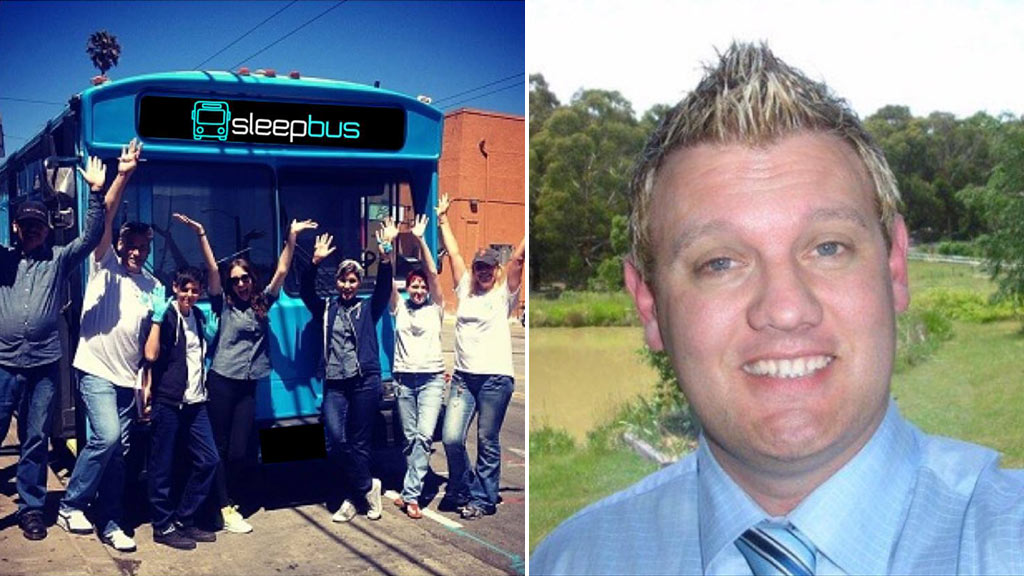 Donations pour in for Melbourne man's scheme to build special buses for housing the homeless