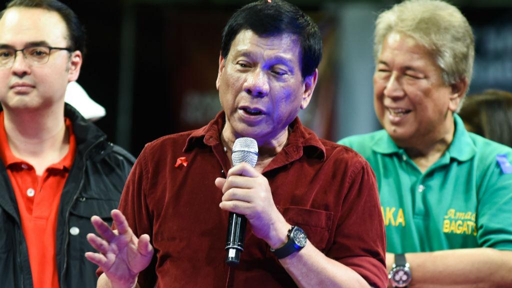 Rodrigo Duterte. (Getty Images)