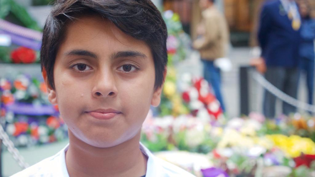 Ahmadiyya Muslim Youth member, Absham Gondal, 13. (Ehsan Knopf/9NEWS)