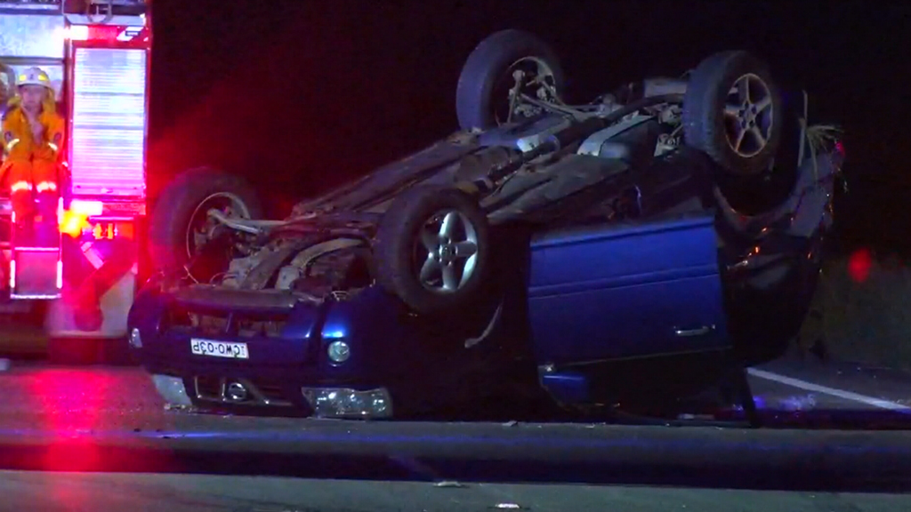 Teen fighting for life after being hit by van moments after escaping separate car crash