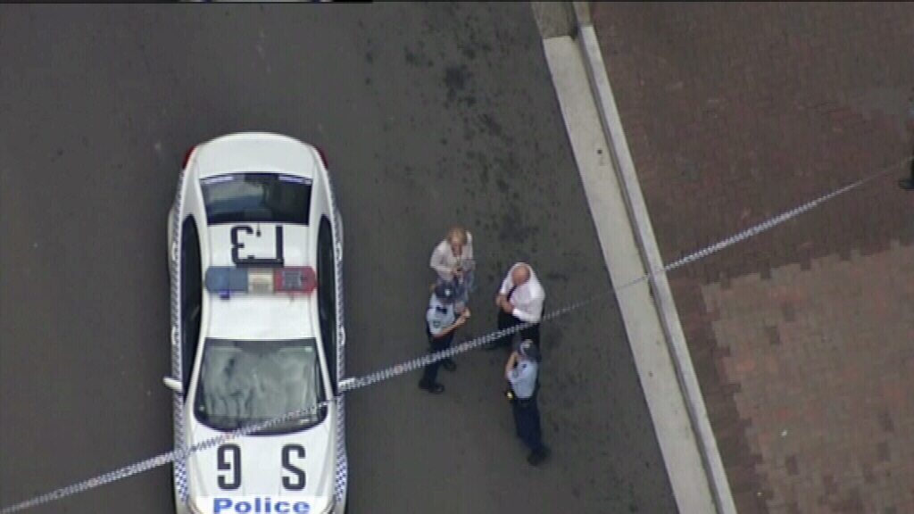 Emergency services at the scene. (9NEWS)
