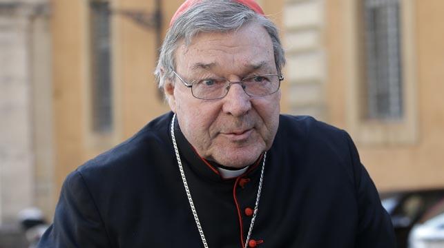 Cardinal George Pell. (AAP)