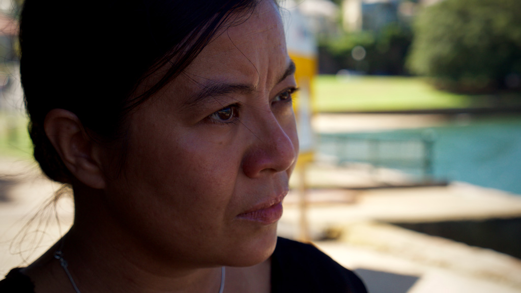 Ms Yang said she found the scarcity of specialised support for family members of drug- and alcohol-users made the death of her partner all the more difficult. (Ehsan Knopf/9NEWS)