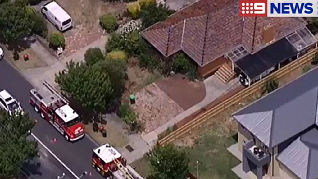 Man and teenage girl injured in gas bottle explosion at Box Hill, in Melbourne's east