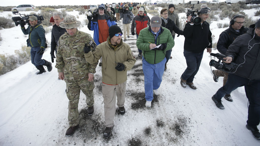US anti-government militia continue stand-off in Oregon