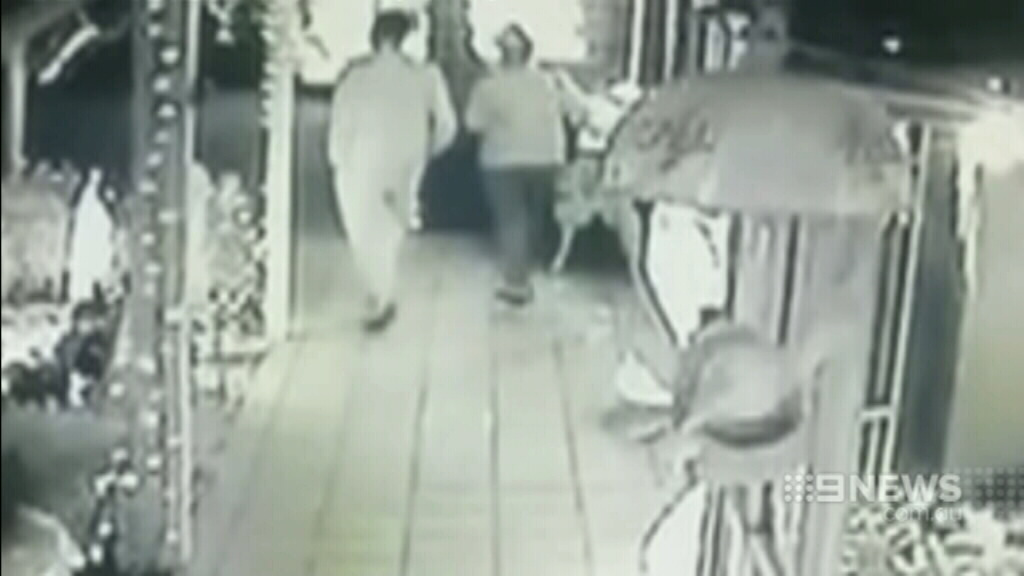 The thieves were captured on CCTV. (9NEWS)