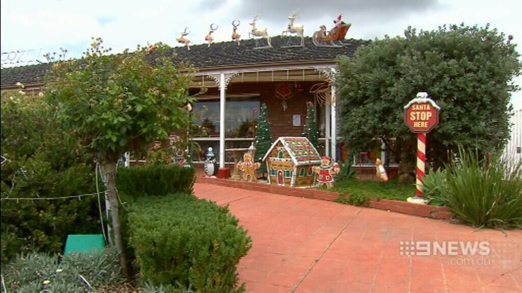 The Condello family's Greenvale home. (9NEWS)