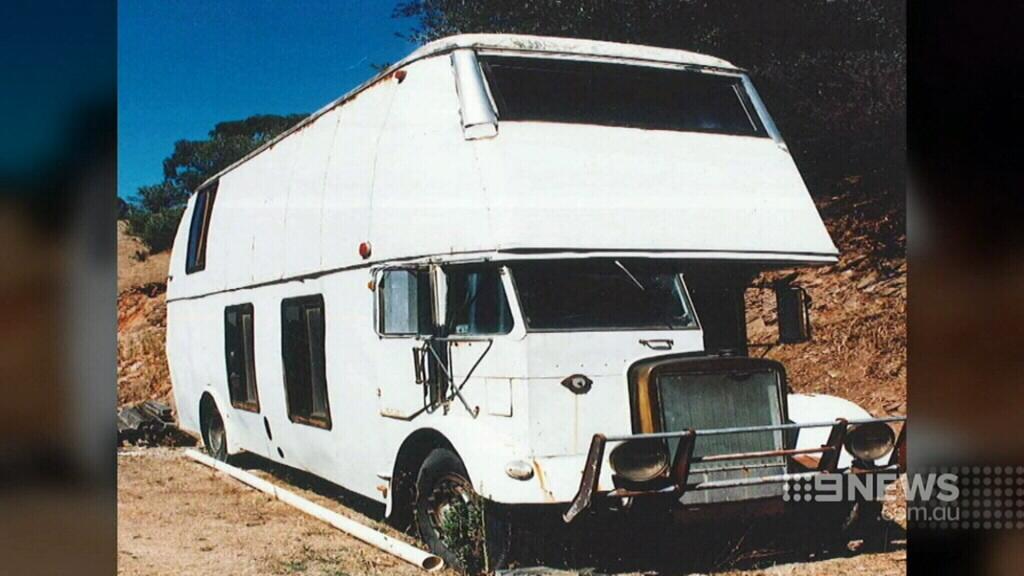Mr Mahony was living on a bus on Mr McCauley's Willunga property.