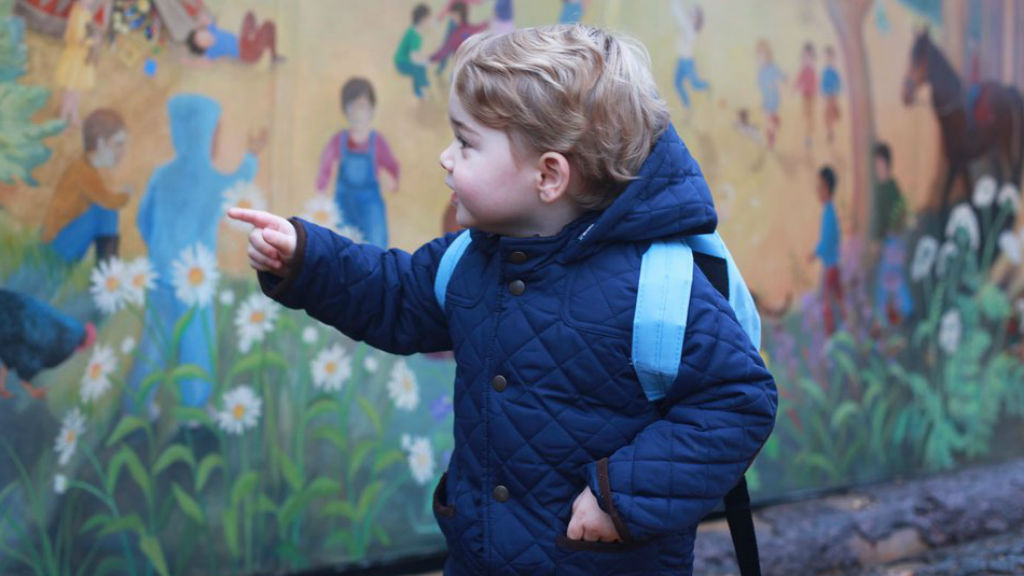 Prince George will be attending the nursery at Westacre Montessori School in Norfolk. (Duchess of Cambridge)